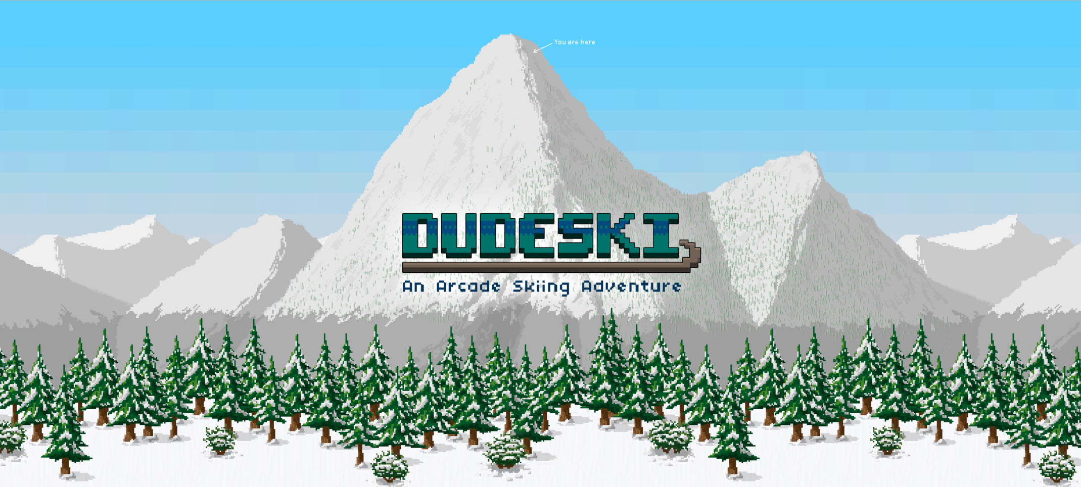 Screenshot of dudeskigame.com